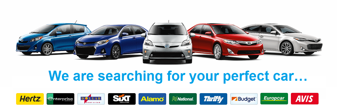 searching for your perfect car rental